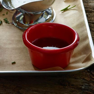 Red Melamine Ramekin 3oz / 85ml