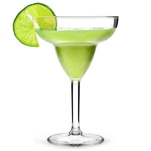 Polycarbonate Margarita Cocktail Glasses 14oz (Set of 4)