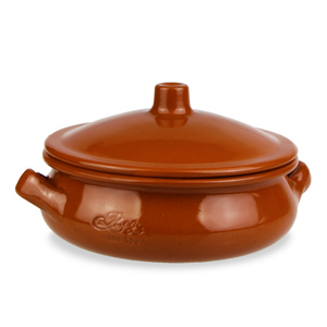 Estrella Lugged Tapas Casserole Dish with Lid 13cm