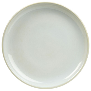 Rustic Coupe Plate White 19cm
