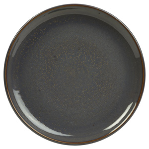 Rustic Coupe Plate Blue 24cm