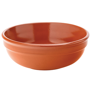 Regás Terracotta Gazpacho Soup Bowl