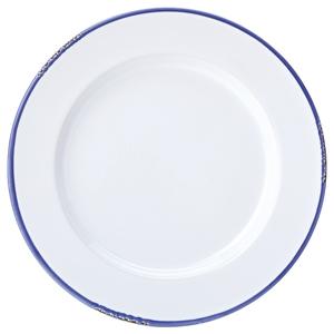Avebury Blue Rim Plate 10inch / 26cm