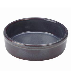Rustic Blue Tapas Dish 13cm