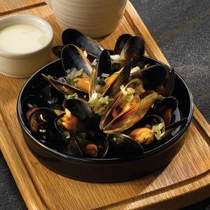 Art De Cuisine Rustics Simmer Hot Pot Dish Black 5.5 Inches / 14cm