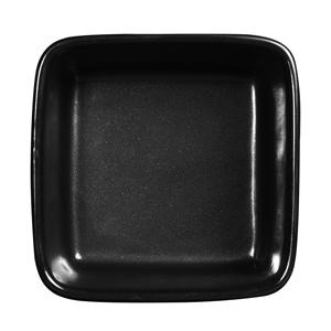 Art De Cuisine Rustics Simmer Square Deli Dish Black 5.1 Inches / 13cm