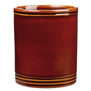 Art De Cuisine Rustic Centre Stage Utensil Holder Brown 4.95 Inches / 12.5cm