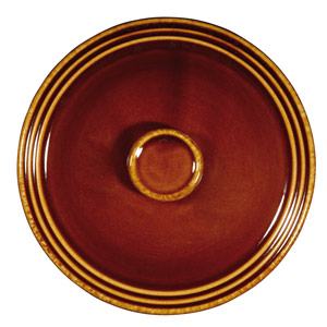 Art De Cuisine Rustics Centre Stage Small Pot Lid Brown 3.4 Inches / 8.6cm