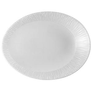 Churchill Bamboo Oval Plate 19.5 x 15cm