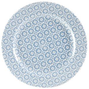 Churchill Moresque Profile Plate Blue 12inch / 30.5cm