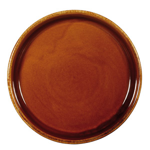 Art De Cuisine Rustics Centre Stage Mezze Dish Brown 7.85 Inches / 20cm