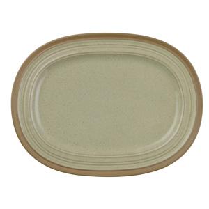 """Art de Cuisine Igneous Oval Plate 12.5"""" / 32cm"""