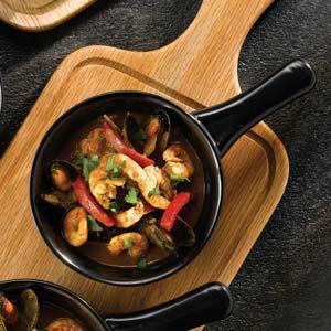 Art De Cuisine Rustics Simmer Small Skillet Black 13oz / 370ml