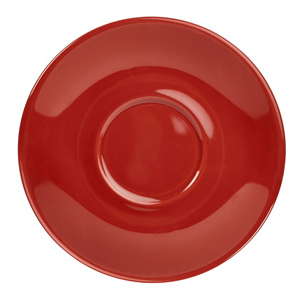 Royal Genware Saucer Red 16cm