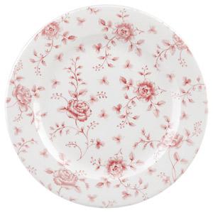 Churchill Vintage Prints Cranberry Rose Chintz Plate 12inch / 30.5cm