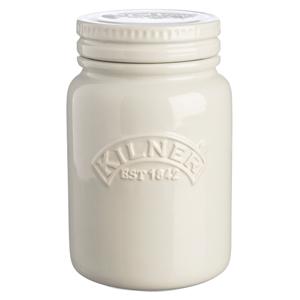 Kilner Ceramic Storage Jars Moonlight Grey 0.6ltr