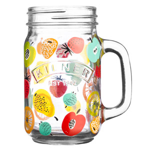Kilner Handled Drinking Jar Fruit Cocktail 14oz / 400ml