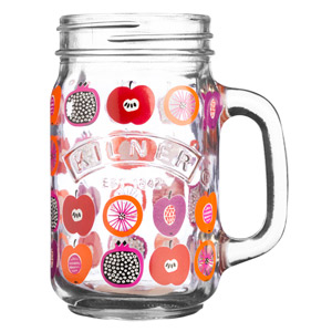 Kilner Handled Drinking Jar Fruit Punch 14oz / 400ml