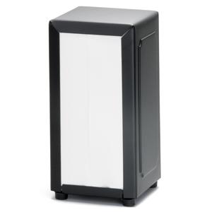 Black Stainless Steel Napkin Dispenser (Case of 24)
