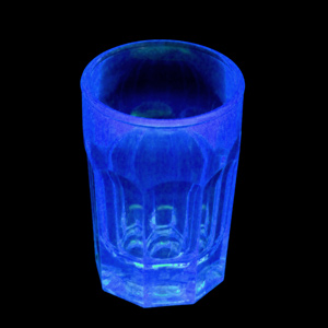 Elite Remedy Polycarbonate Shot Glasses Neon Blue CE 0.9oz / 25ml