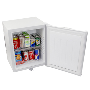 ChillQuiet Silent Mini Bar Fridge 24ltr White