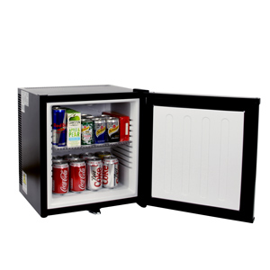 ChillQuiet Silent Mini Bar Fridge 20ltr Black