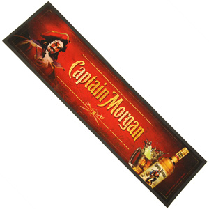 Image of Captain Morgan Wetstop Bar Runner