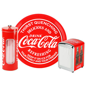 Coca Cola 3Piece Bar Gift Set