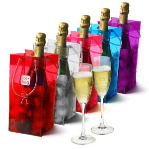 Ice Bag Wine Cooler Set