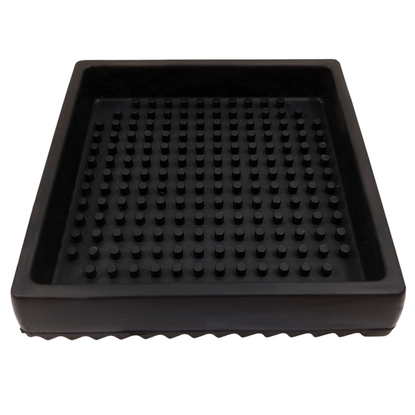 Rubber Square Drip Tray Bar Mat 15cm At Drinkstuff Com