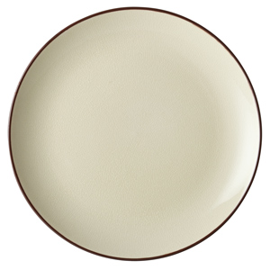 Utopia Soho Coupe Plate Stone 12inch / 30cm