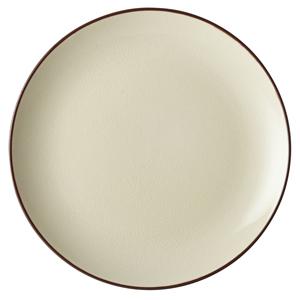 Utopia Soho Coupe Plate Stone 10inch / 25cm