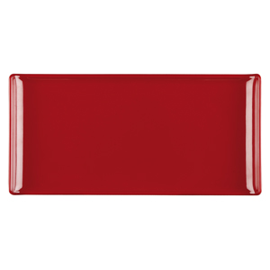 Churchill Alchemy Melamine Rectangle Buffet Tray Red 11.8inch / 30cm