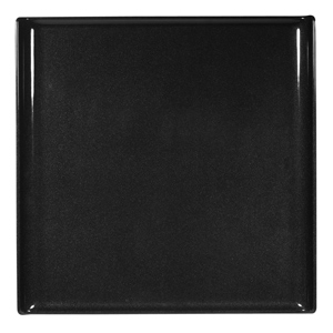 Churchill Alchemy Melamine Square Buffet Tray Black 11.8inch / 30cm
