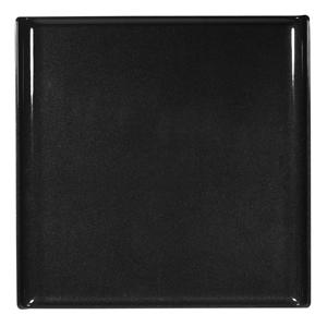 Churchill Alchemy Melamine Square Buffet Tray Black 11.8inch / 30cm