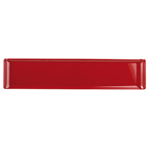 Churchill Alchemy Melamine Rectangle Buffet Tray Red 18inch / 46cm