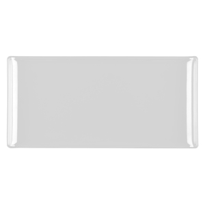 Churchill Alchemy Melamine Rectangle Buffet Tray White 11.8inch / 30cm
