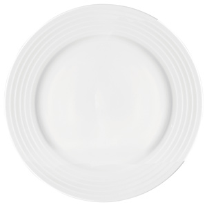 "Utopia Anton Black Edge Winged Plates 12.25"" / 31cm"