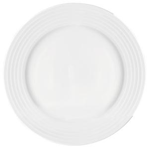 "Utopia Anton Black Edge Winged Plates 10.25"" / 26cm"