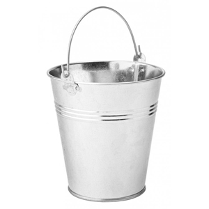 Galvanised Steel Serving Buckets 12cm