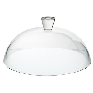 Utopia Patisserie Glass Cake Dome 12.5inch / 32cm