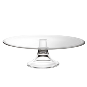 Utopia Banquet Glass Cake Stand 13inch / 32cm