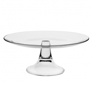 Utopia Banquet Glass Cake Stand 11inch / 28cm