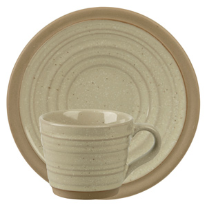 Art de Cuisine Igneous Espresso Cup and Saucer 3oz / 85ml