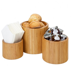 Utopia Bamboo Buffet Display Risers