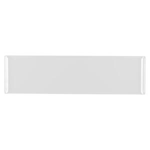 Churchill Alchemy Melamine Rectangle Buffet Tray White 22inch / 56cm