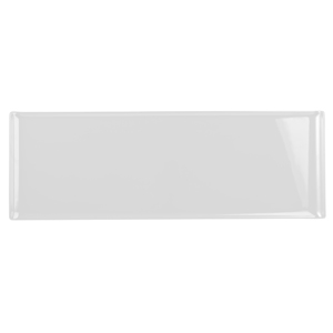 Churchill Alchemy Melamine Rectangle Buffet Tray White 22.8inch / 58cm