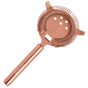 Urban Bar Copper Plated Hawthorn Strainer