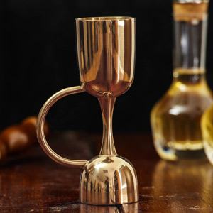 Urban Bar Rose Gold Plated Coley Jigger Measure