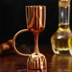 Urban Bar Copper Plated Coley Jigger Measure